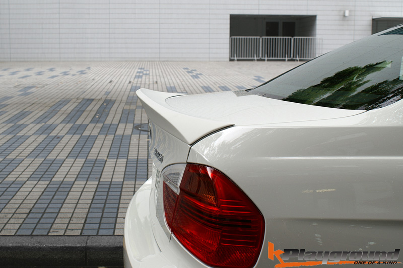 SPECIAL: E90 CSL STYLE TRUNK LID SPOILER